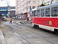 Na žertvách - U Balabenky, oprava kolejového oblouku (01).jpg