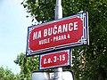 Na Bučance, název ulice a orientační čísla.jpg