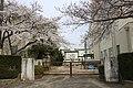 Nagoya City Moriyama-nishi Junior High School 20170405.jpg