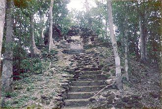 Nakbe - Temple at Nakbe