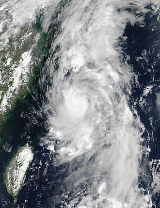 2017 Pacific typhoon season - Image: Nanmadol 2017 07 03 0512Z
