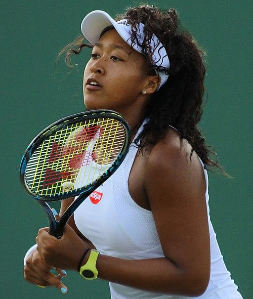 Naomi Osaka, Wimbledon 2017