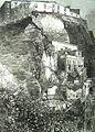 Napoli, Monte Echia, frana (1862).jpg