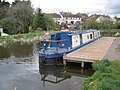 Narrowboat, Sampford Peverell - geograph.org.uk - 1247969.jpg