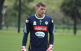 Nathan Coe - Coe with Melbourne Victory in 2013