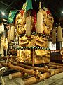 National Museum of Ethnology, Osaka - Drum float - Niihama City, Ehime Pref. - Collected in 1978.jpg