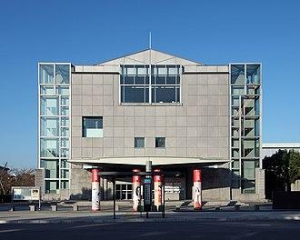 National Museum of Modern Art, Kyoto - Main entrance to National Museum of Modern Art in Kyoto.