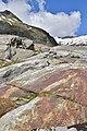 Nationalpark Hohe Tauern - Gletscherweg Innergschlöß - 45 - Wegmarkierung am Gletscherschliff.jpg