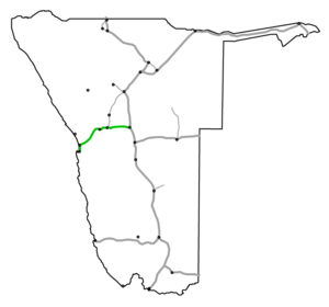 B2 road (Namibia) - Image: Nationalstraße B2