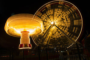 Navy Pier - The iconic Navy Pier wheel, which was retired on 27th September 2015