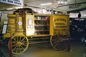 Minden, Nebraska - Display at Pioneer Village in Minden (2007)