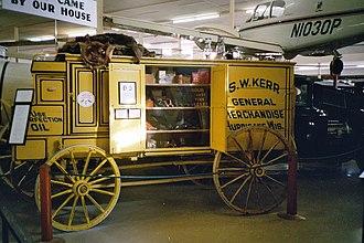 Minden, Nebraska - Display at Pioneer Village in Minden (2007)