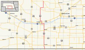 Nebraska Highway 10 - Image: Nebraska Highway 10