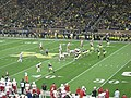 Nebraska vs. Michigan football 2013 06 (Michigan on offense).jpg