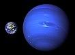 Neptunus en Aarde
