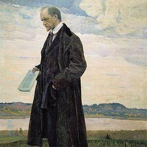 Ivan Ilyin - Ilyin in 1921, by Mikhail Nesterov