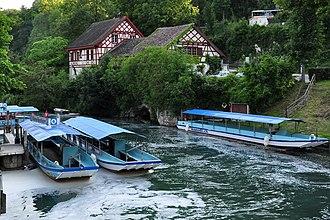 Wörth Castle - Image: Neuhausen am Rheinfall Rheinfall Schloss Wörth 2010 06 24 19 05 14 Shift N