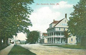 Solon, Maine - The New Caratunk in 1907