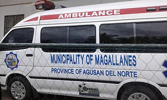 Caraga - This Ambulance was acquired by Magallanes LGU in 2016.