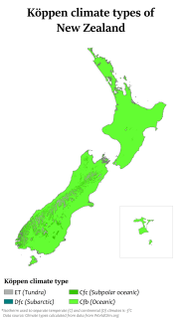 Climate of New Zealand