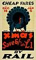 New Zealand Railway poster - Cheap Fares By Rail Xmas1929 (10469003566).jpg