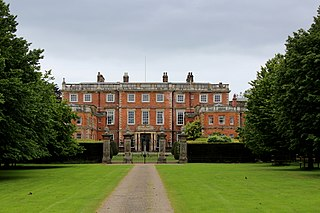 Newby Hall Grade I listed house in North Yorkshire, England