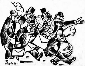 The New Masses - The New Masses featured the political art of a number of prominent radical cartoonists, including William Gropper.