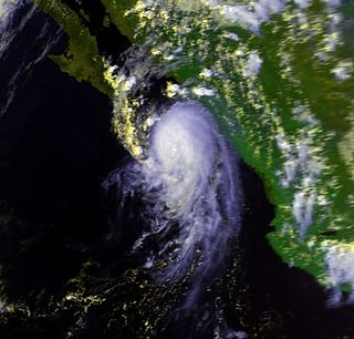 Hurricane Newton (1986) Category 1 Pacific hurricane in 1986