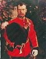 Nicholas II of Russia by V.Serov (1910, Hessen).jpg