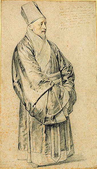 Nicolas Trigault (1577–1629) in Chinese attire, by Peter Paul Rubens.