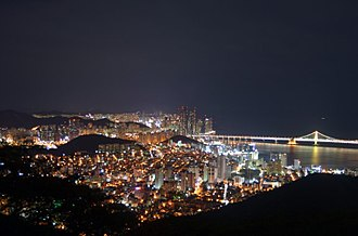 Busan - Busan at night