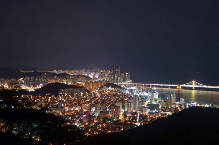 Night view of Busan-city