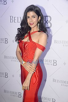Nimrat Kaur graces the red carpet of Belvedere Studio (04).jpg