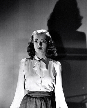 Nina Foch - Foch in the film noir Johnny O'Clock (1947)