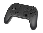 A Nintendo Switch Pro Controller