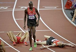 Nixon Chepseba Kenyan middle distance runner