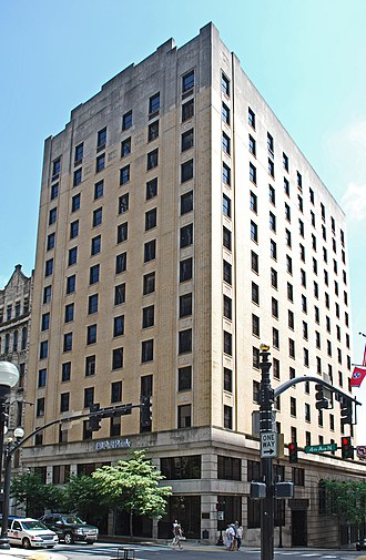 Noelle Nashville Hotel - Operating as the Noel Place office building in 2010
