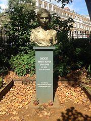 Bust of Noor Inayat Khan