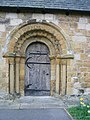 Norman Doorway at St Oswalds Sowerby - geograph.org.uk - 561891.jpg