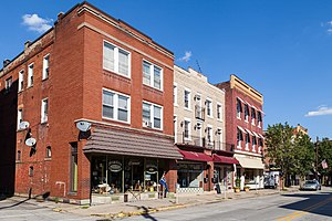 North side of 100 block of Market Street, Leechburg, Pennsylvania.jpg
