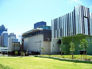 State Library of Queensland - Northern end of the State Library of Queensland