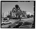 Northwest corner contextual view, facing southeast - Santa Monica City Jail, 1685 Main Street, Santa Monica, Los Angeles County, CA HABS CA-2803-3.tif