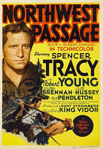 Northwest Passage (film) - Theatrical release poster