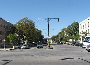 Nostrand Avenue - South end in Sheepshead Bay