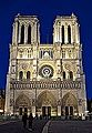 Notre Dame Cathedral at night, Paris 22 May 2014.jpg