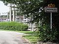 Noyales (Aisne) city limit sign.JPG