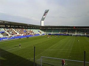 Estadio Nueva Balastera - Image: Nuevabalasterainteri or