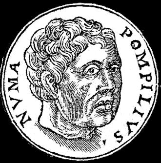 Numa Pompilius - Numa Pompilius, from Promptuarii Iconum Insigniorum