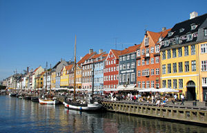 English: Nyhavn in Copenhagen, Denmark