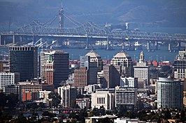 Oakland Skyline and Bridge